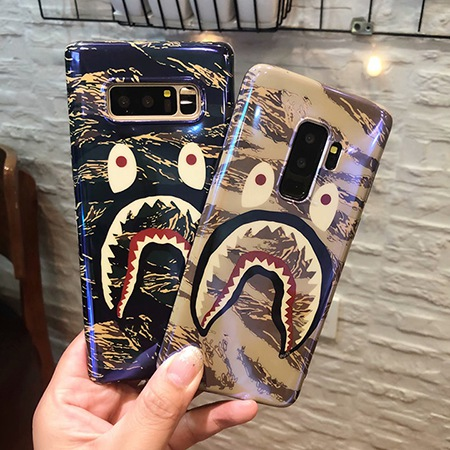 Bape Shark Galaxy S8/S8 Plus ケース ペア