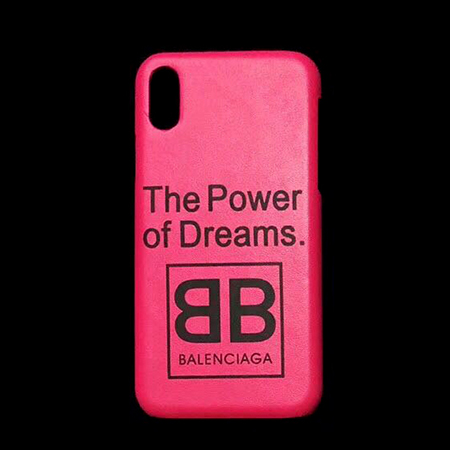 new product e84de 6f694 バレンシアガ iPhoneX/8 ケース 薄型 Balenciaga iPhone XS/XS ...