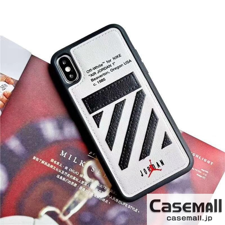 off-white Air jordan iPhone8 8plus カバー