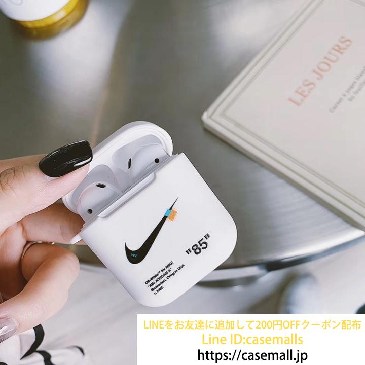 NIKE+OFF WHITE コラボ Airpodsケース